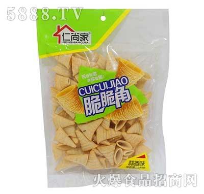 仁尚家脆脆角蒜香味休闲食品140g袋装