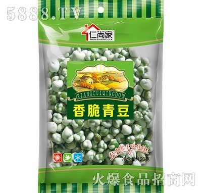 仁尚家香脆青豆120g袋装产品图