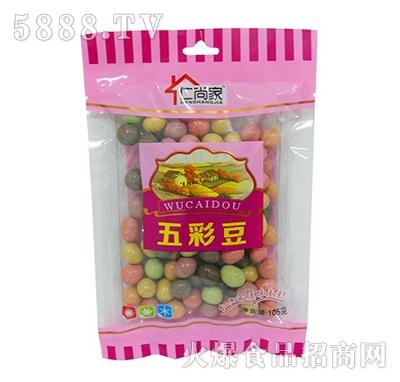 仁尚家五彩豆糖果105g袋装
