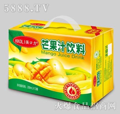 强口力芒果汁饮料288mlX12罐
