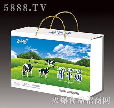 熊小酪甜牛奶200mlx12盒