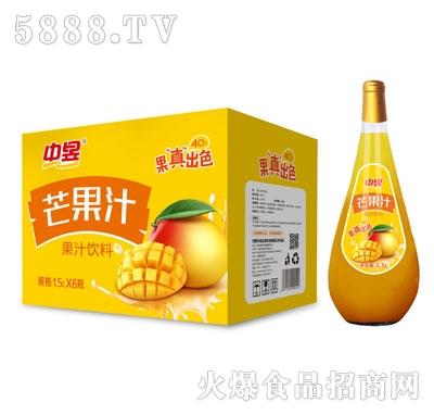 中昱芒果汁饮料1.5LX6