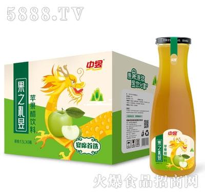 中昱苹果醋饮料1.5LX6瓶