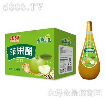 中昱苹果醋饮料1.5LX6