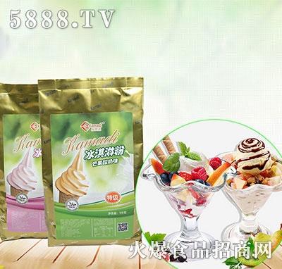 酸奶味冰淇淋1000g产品图