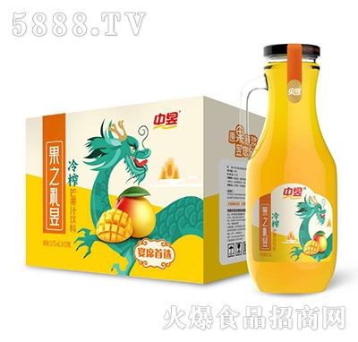 中昱冷榨芒果汁饮料375mlX12