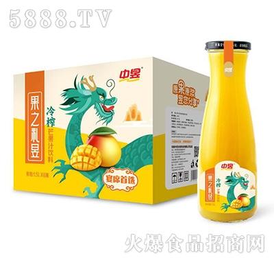 中昱冷榨芒果汁饮料1.5LX6