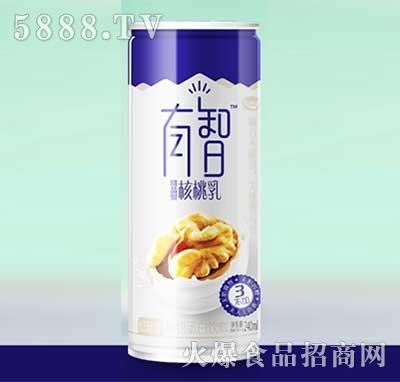 有智核桃乳植物蛋白饮料240ml罐装