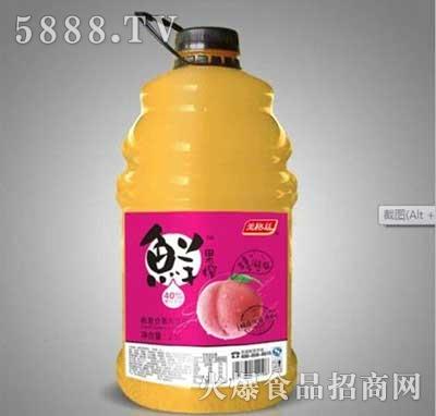 美格丝鲜果榨桃汁果汁饮料