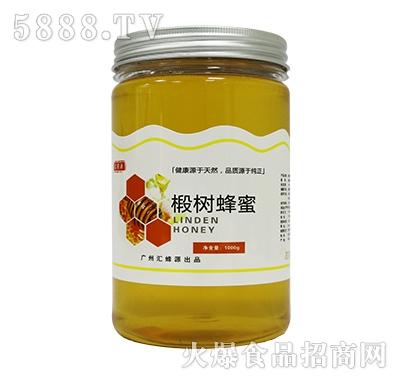 汇蜜源椴树蜜PET瓶1000g