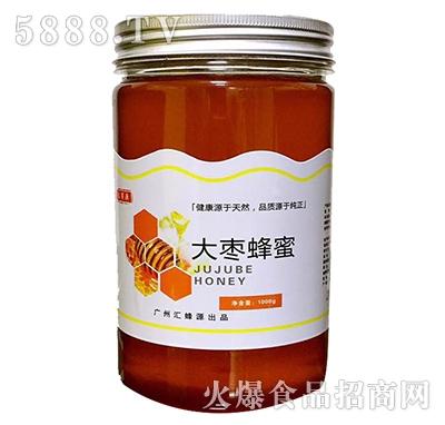 汇蜜源大枣蜜PET瓶1000g