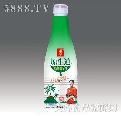 原生道果肉椰子汁1L