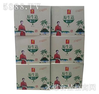 原生道椰子汁果肉1kgx3箱装