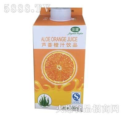 佳源芦荟橙汁饮品500ml