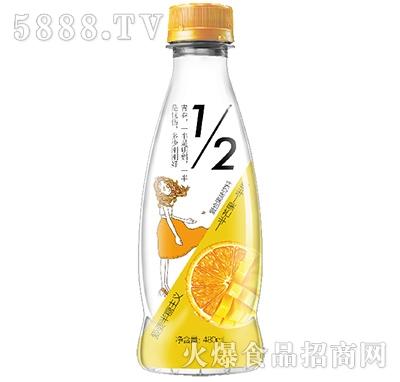 芒果新奇士橙果汁480ml.