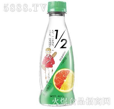 柠檬西柚果汁480ml
