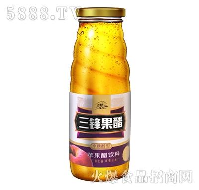 三锋果醋320ml紫标木糖醇果醋