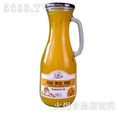 三锋冷榨芒果果汁1.25L