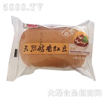 铭吃点天然醇香红豆面包