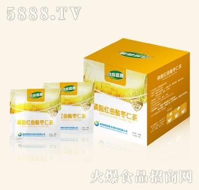 鸿鹄香穗磷脂红曲酸枣仁茶产品图