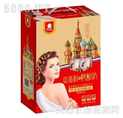 莫斯科烤酸奶200gX12盒
