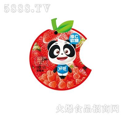 妙呀�SC�糖草莓味32克