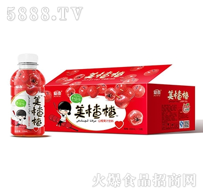 爱雨美楂楂山楂汁350ml箱