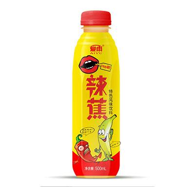 爱雨辣蕉特色风味饮料500ml