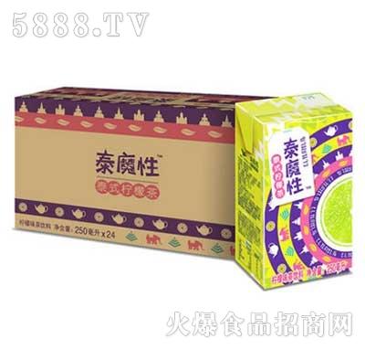 统一泰魔性柠檬茶饮料250mlx24包