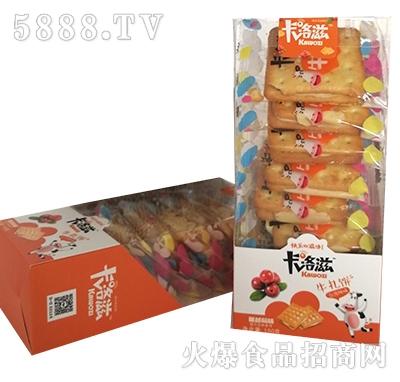 卡洛滋牛轧饼台湾风味蔓越莓味150克