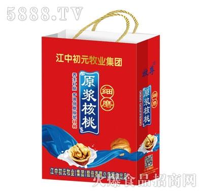 细磨原浆核桃复合蛋白饮品(袋)