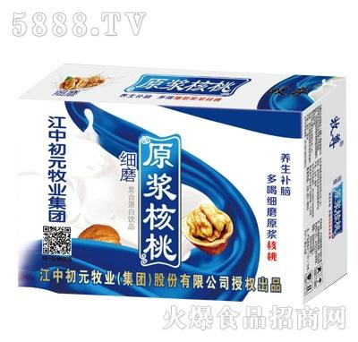 细磨原浆核桃复合蛋白饮品