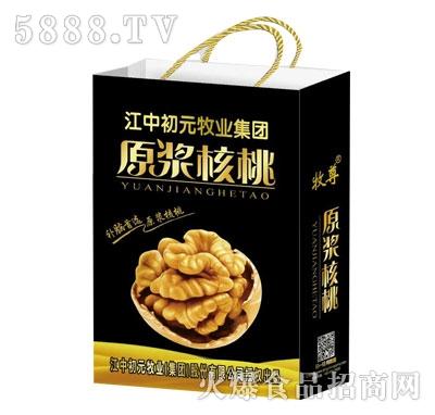 原浆核桃复合蛋白饮品(袋)