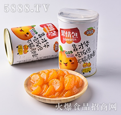 华泉果情包柑橘罐头425g