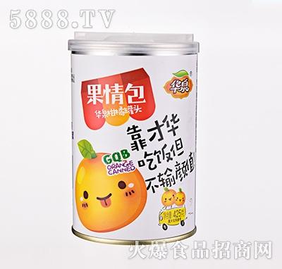 华泉果情包柑橘罐头425克