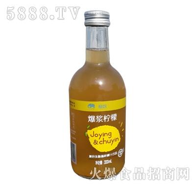 初饮复合乳酸菌柠檬汁饮品
