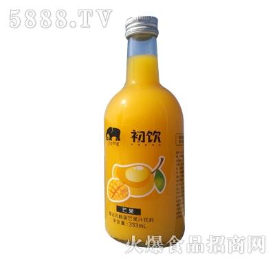 初饮复合乳酸菌芒果汁饮品