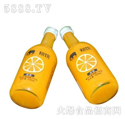 初饮复合乳酸菌橙汁饮品