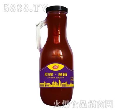 锦星冷榨蓝莓汁