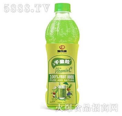 瑞乐康干果粒果汁饮料500ml