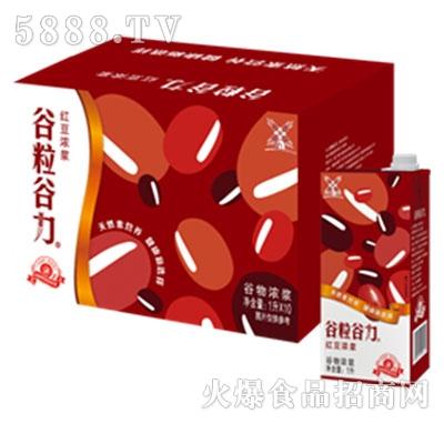 谷粒谷力红豆浓浆1Lx10盒