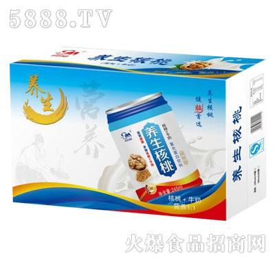 养生核桃复合植物蛋白饮料(箱)