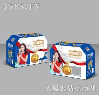 350mlX10椰泰果粒酸奶礼盒