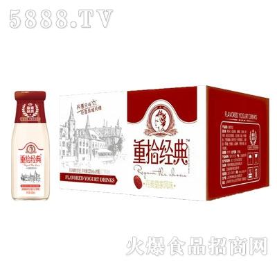 皇家品质重拾经典发酵红枣味酸奶1Lx6瓶