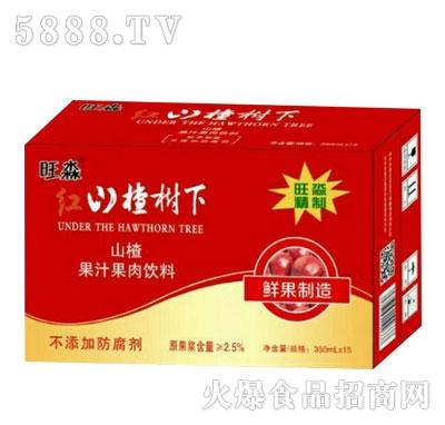旺淼红山楂树下山楂汁(箱)