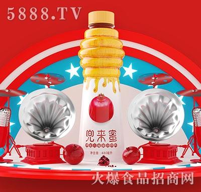兜来蜜蜂蜜石榴果汁480ml