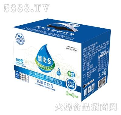 慧能多340ml1元乐享原味乳酸菌箱装