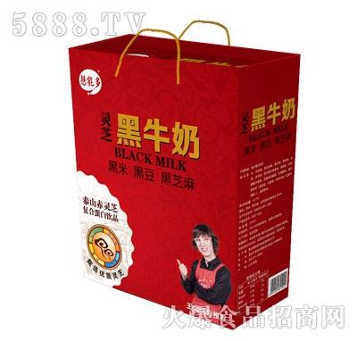 黑牛奶250MLX12瓶礼盒利乐砖装