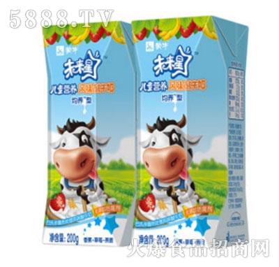 蒙牛未来星儿童营养酸牛奶(香蕉草莓燕麦)200g