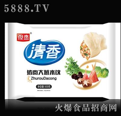 俊杰清香水饺猪肉大葱500g